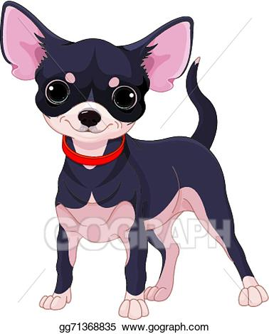 Chihuahua clipart vector. Art drawing gg gograph