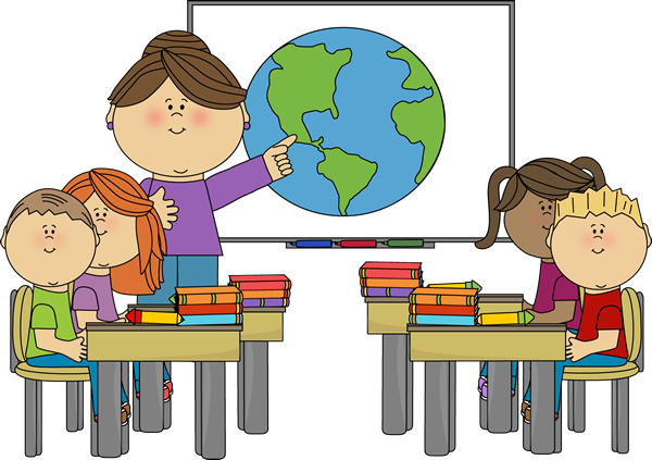 Free school clip art. Children clipart classroom