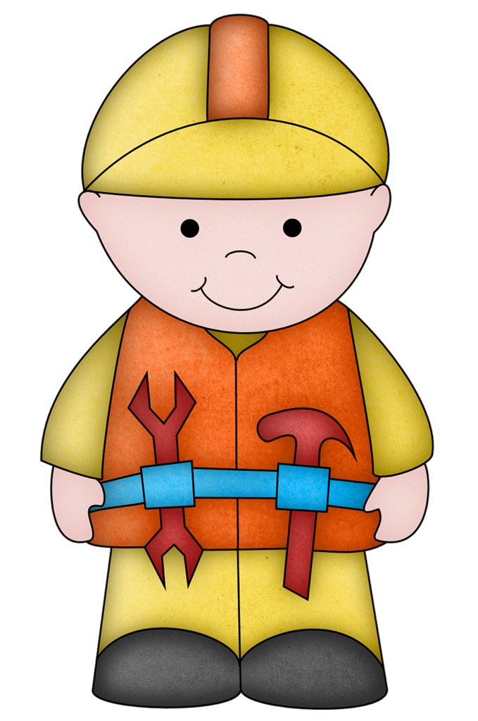 Guy png clip art. Child clipart construction
