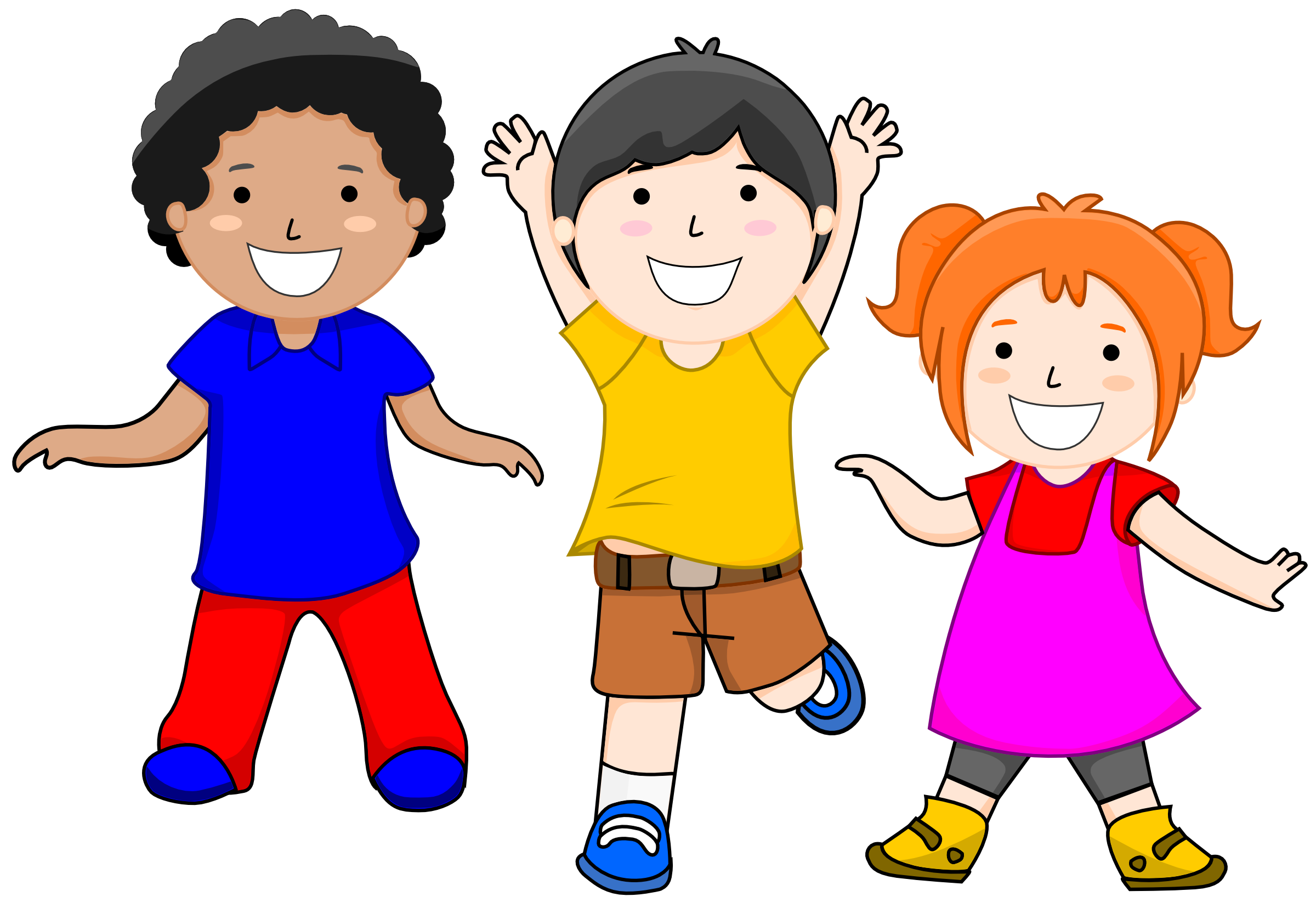 collection of children. Race clipart proud kid
