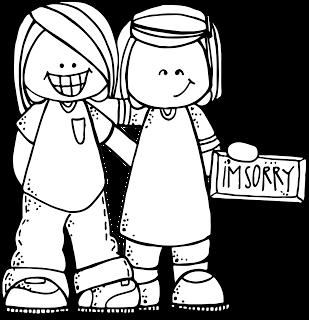 Melonheadz lds illustrating primary. Children clipart forgiveness