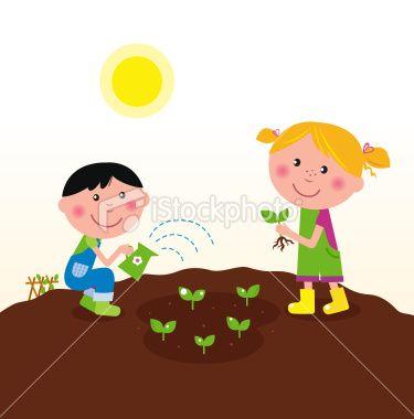 Gardener clipart little. Pin on illustration