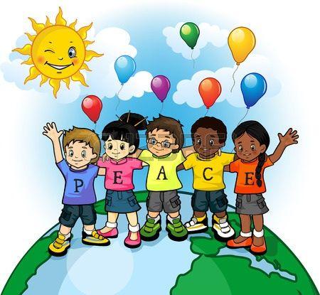 Peace clipart child. Off vector ramovi school