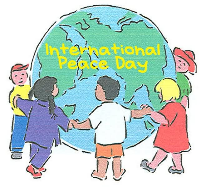 Child clipart peace.  international day of