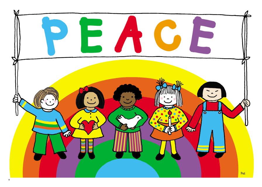 If kids. Peace clipart peace kid