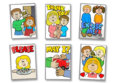 Child clipart polite. Expressions station