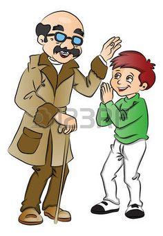 B c f ae. Child clipart respectful