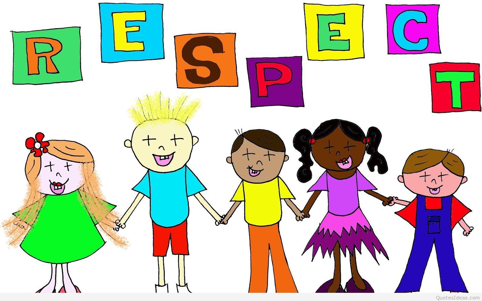 Respect logo meopham community. Child clipart respectful
