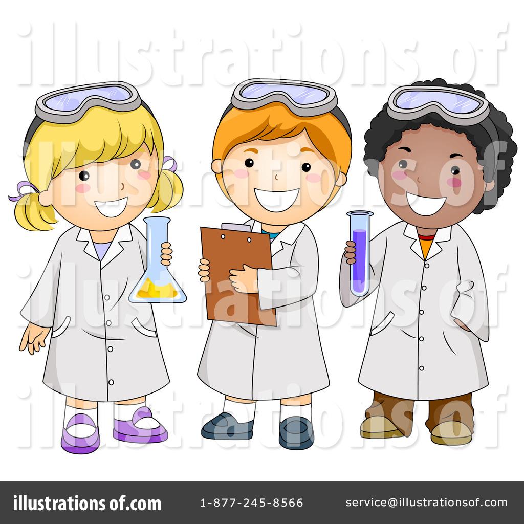 Illustration by bnp design. Diversity clipart science