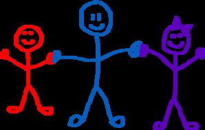 Child clipart stick figure. Kids clip art at