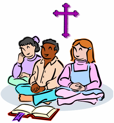 Children clipart sunday school. Station