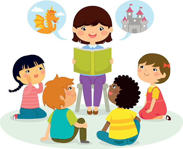 Kids clipart teacher.  collection of listening