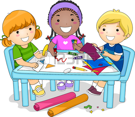 Working clipart child. Kids together free download
