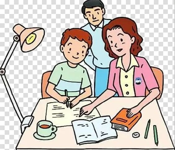 Homework child illustration the. Counseling clipart tutoring