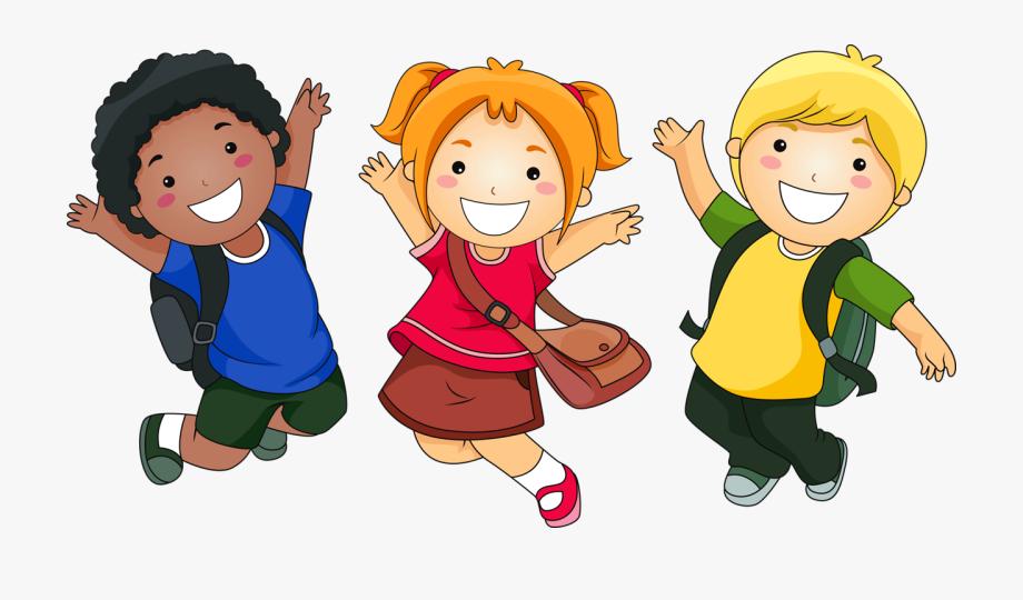 Sharing school . Children clipart