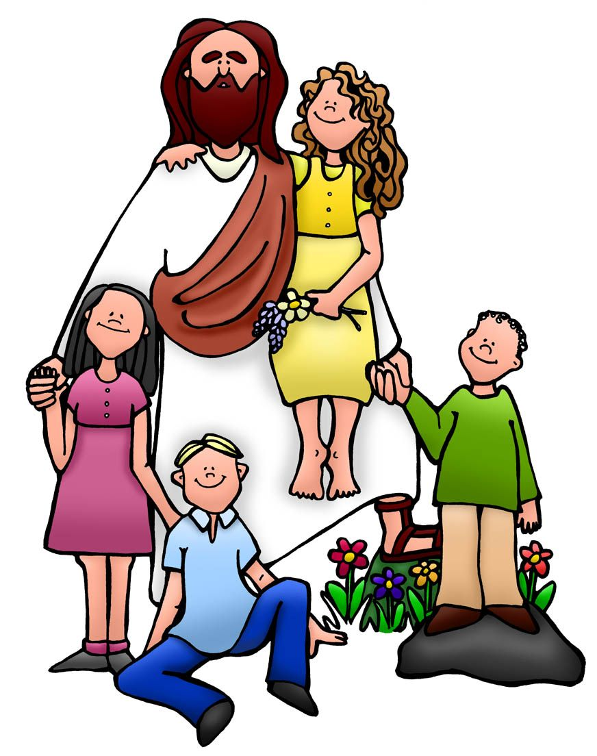 Storytime clipart bible time. Jesus children clip art