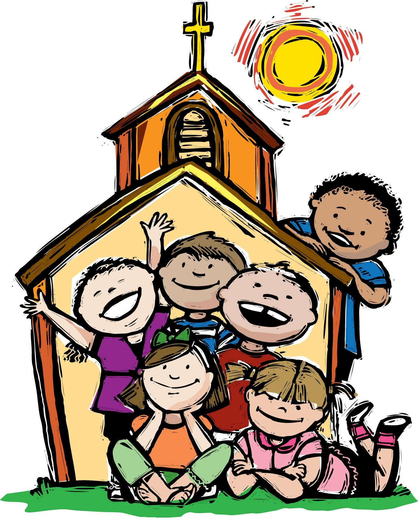 Clipart church children's. Free childrens ministry cliparts