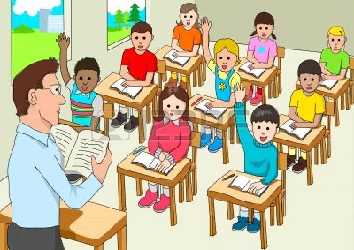 Children clipart classroom.  collection of school