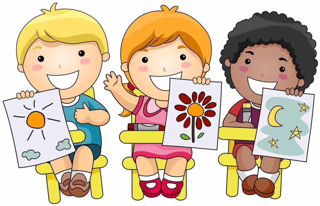 Daycare clipart creative child. School age care serving
