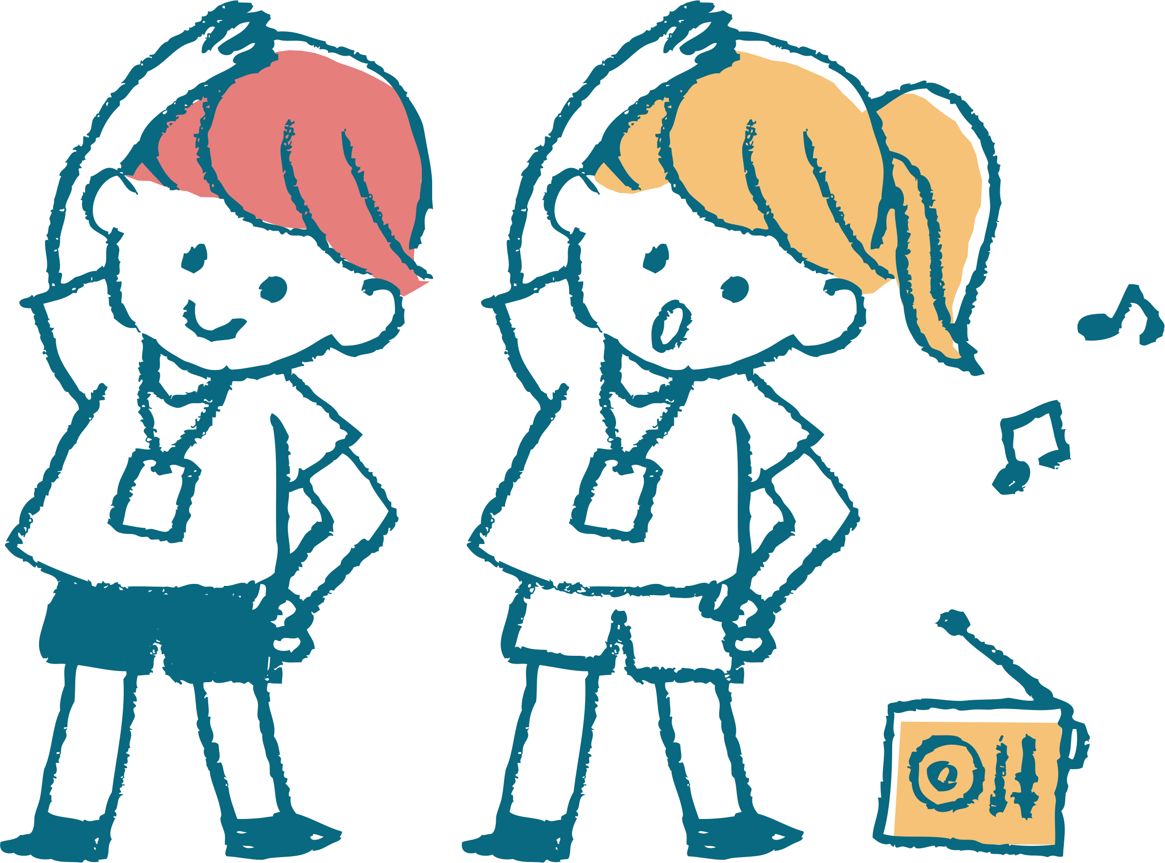 Big image png. Clipart children exercise