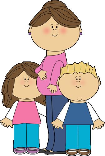 Momy clip art images. Children clipart mum