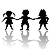 Children clipart shadow. Kid pencil and in