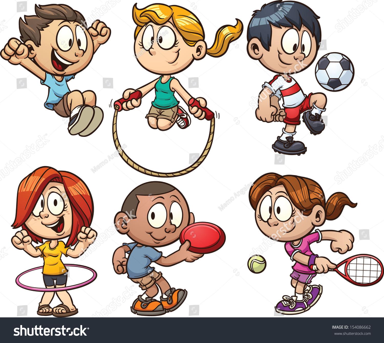 Station . Children clipart sport