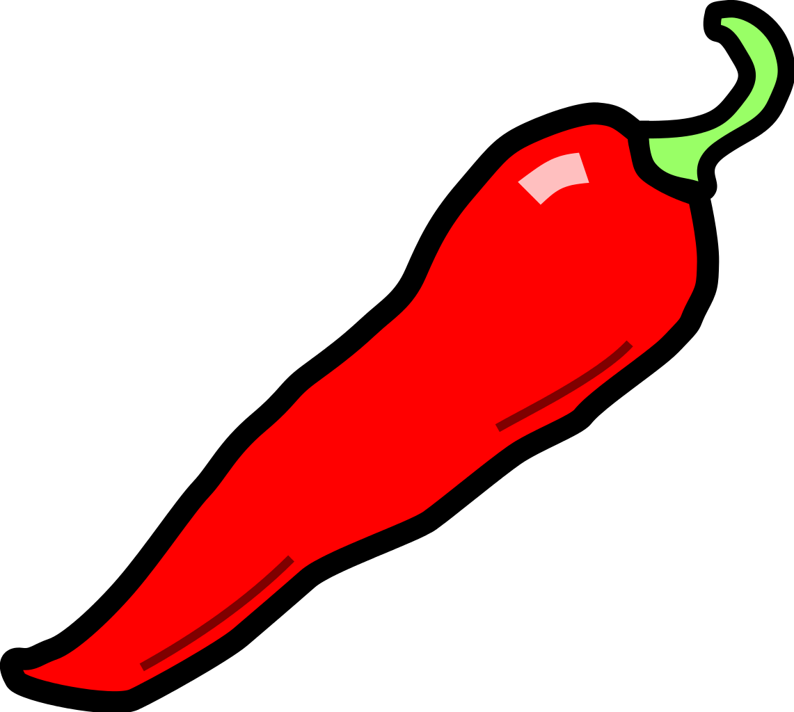 Pepper clipart spicy food. Chili drawing at getdrawings