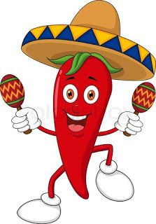 Peppers clipart pepper mexican. Chili cartoon mozaics stuffed
