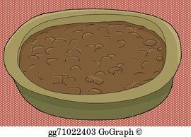 Vector art bowl of. Chili clipart chili bean