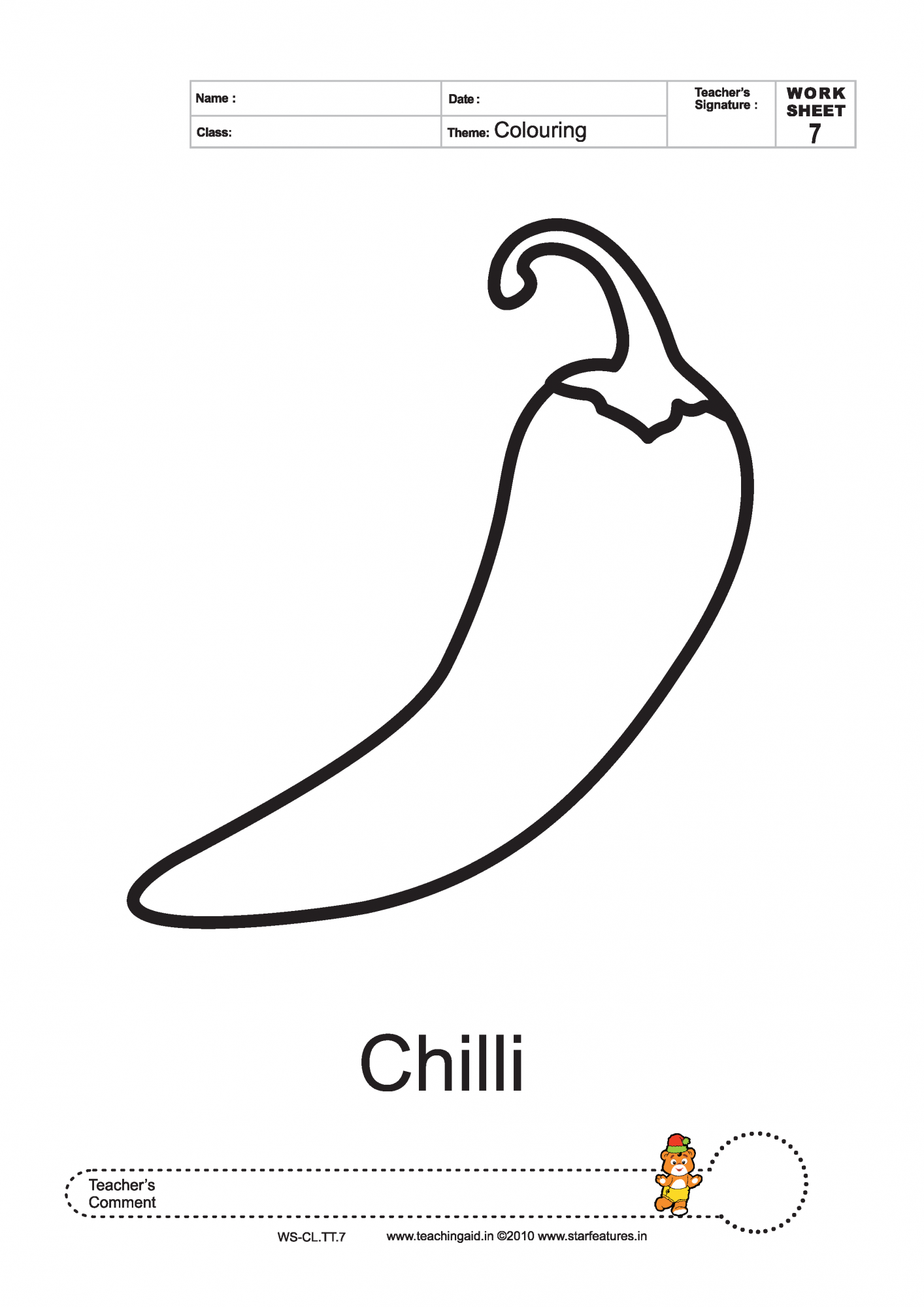 Chile Flag Coloring Pages - Learny Kids | 2000x1414