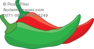 Chili clipart cute. Illustration of red and