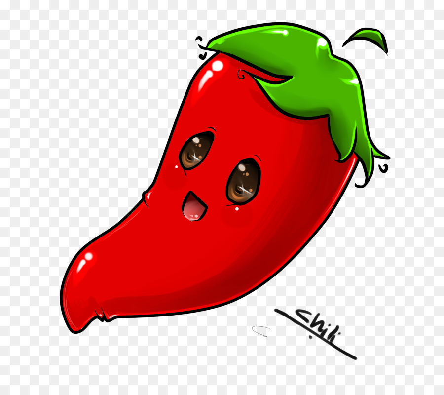 Peppers clipart cute. Ladybird plant food fruit
