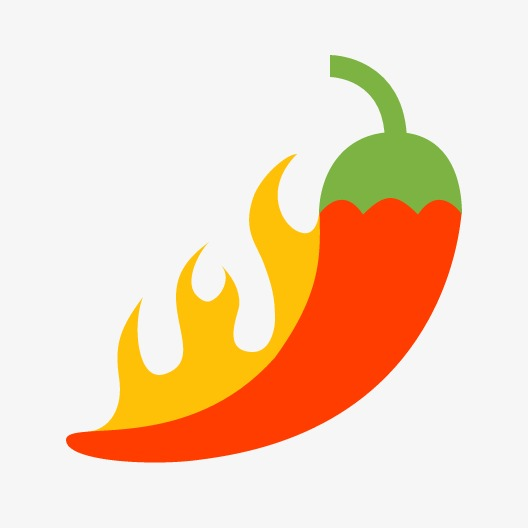 Red pepper png image. Chili clipart fire