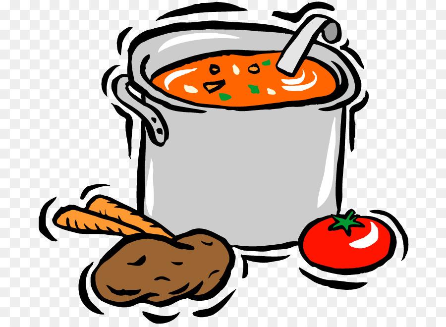Chicken soup con carne. Chili clipart recipe