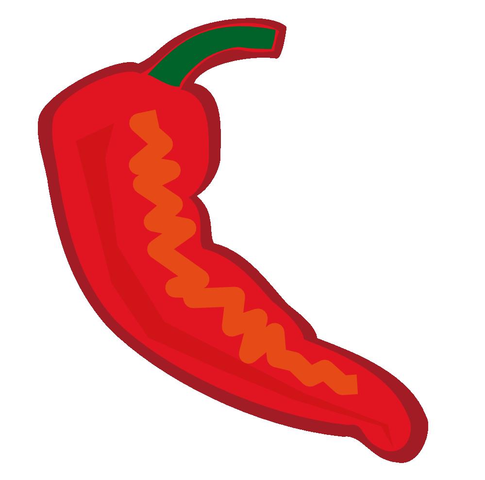 Peppers clipart cartoon. Chili pepper clipartix