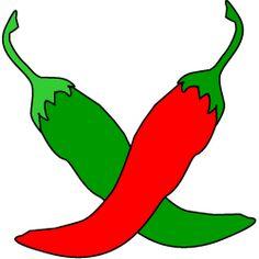 Chili clipart red chilli. Pepper simple vector illustration