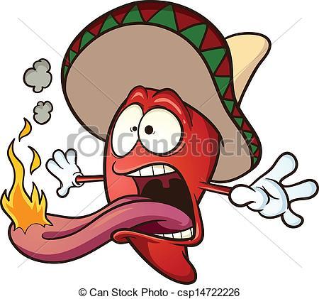 . Chili clipart spicy