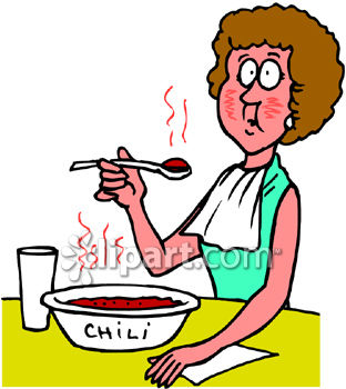 Collection of free download. Chili clipart spicy food