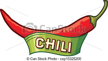 Pepper label panda free. Chili clipart vector