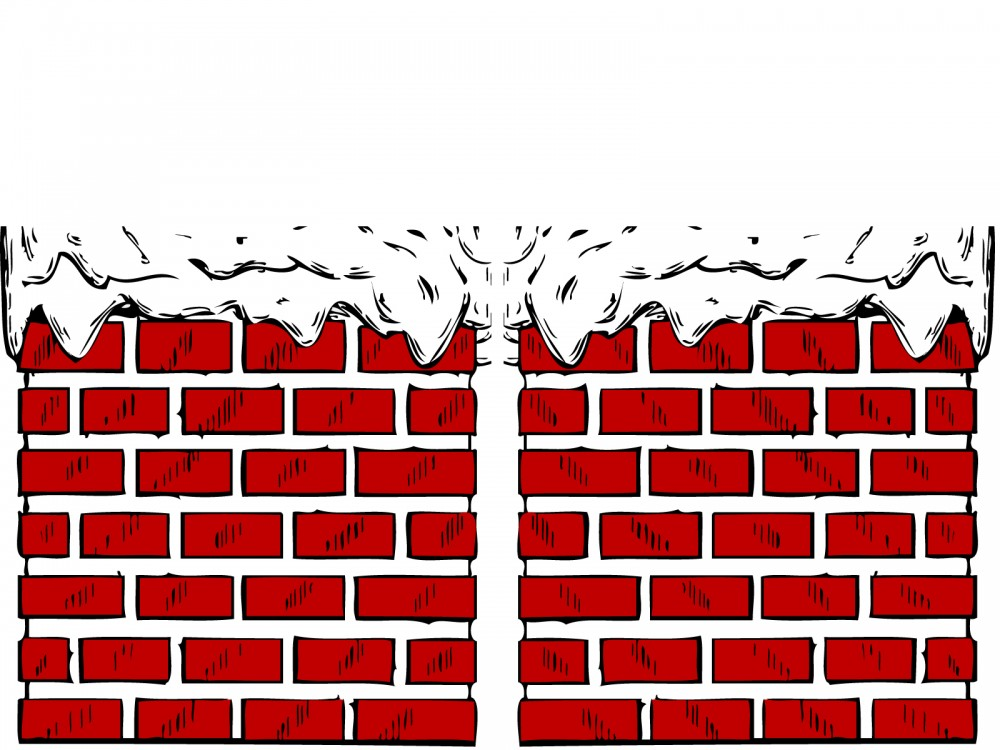 Chimney clipart background. With snow powerpoint design