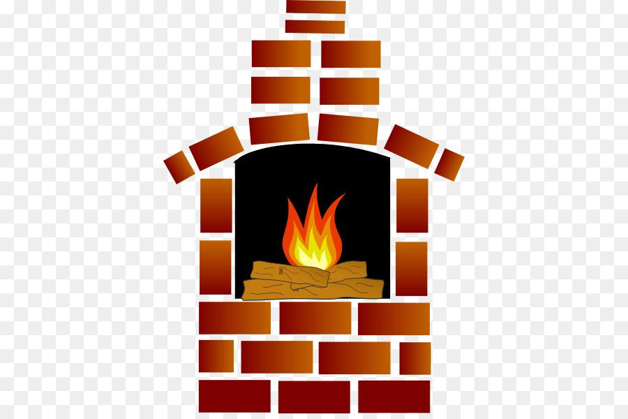 Cartoon fire brick transparent. Fireplace clipart chimney