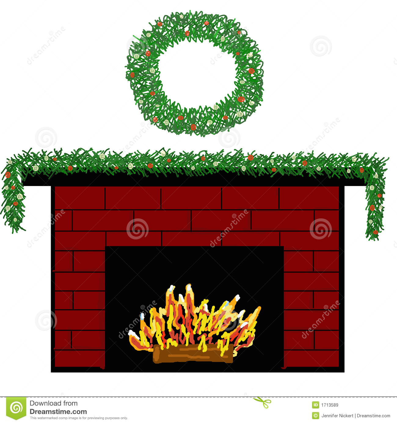 Cartoon christmas panda free. Fireplace clipart