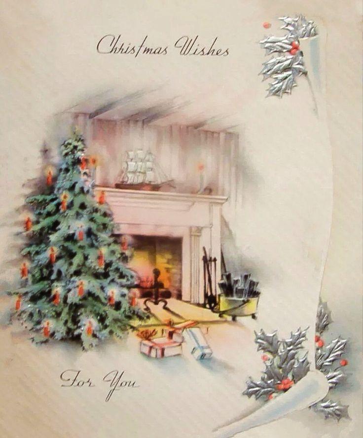 best scene window. Chimney clipart christmas tree fireplace