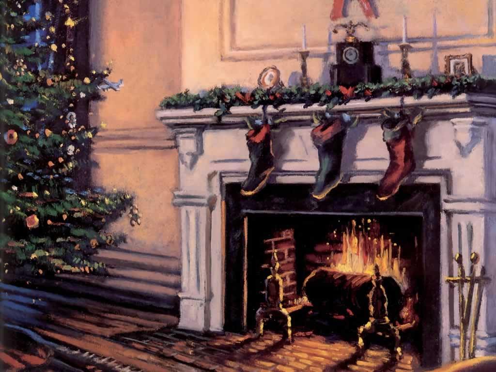 Chimney clipart christmas tree fireplace. Drawing at getdrawings com