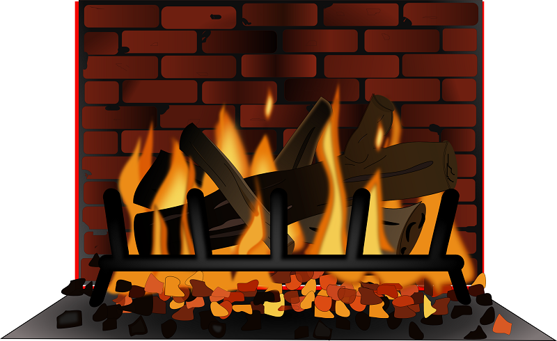 collection of chimney. Fireplace clipart warm fire