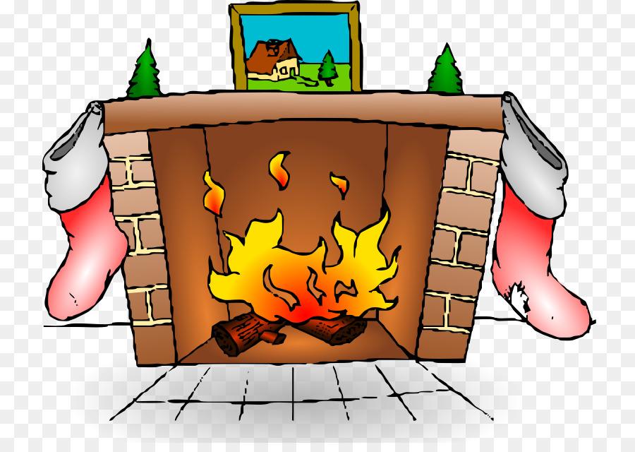Chimney clipart fireplace. Fire cartoon illustration