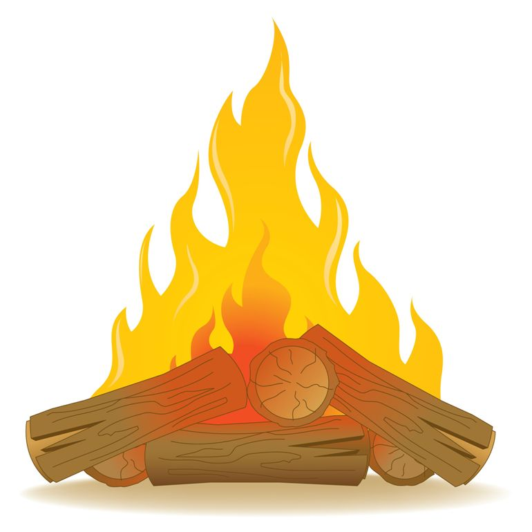 Fireplace clipart fireplace wood. Free chimney flames cliparts