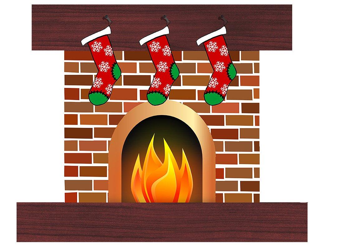 Chimney clipart hearth. Christmas illustration illustrations creative