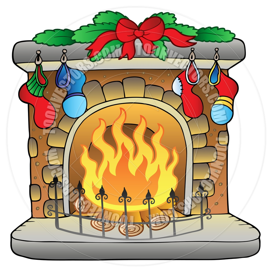 Free holiday cliparts download. Fireplace clipart fireplace scene